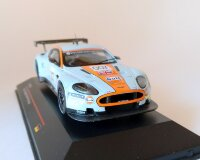 Aston Martin DBR9 #007 Presentation Version 2008 (голубой) Астон Мартин