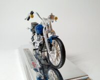 1:18 Мотоцикл Harley-Davidson FXSTS Springer Softail (синий) Харлей Дэвидсон