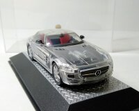 Mercedes-Benz SLS AMG 2010 transparent cars (прозрачный) Мерседес