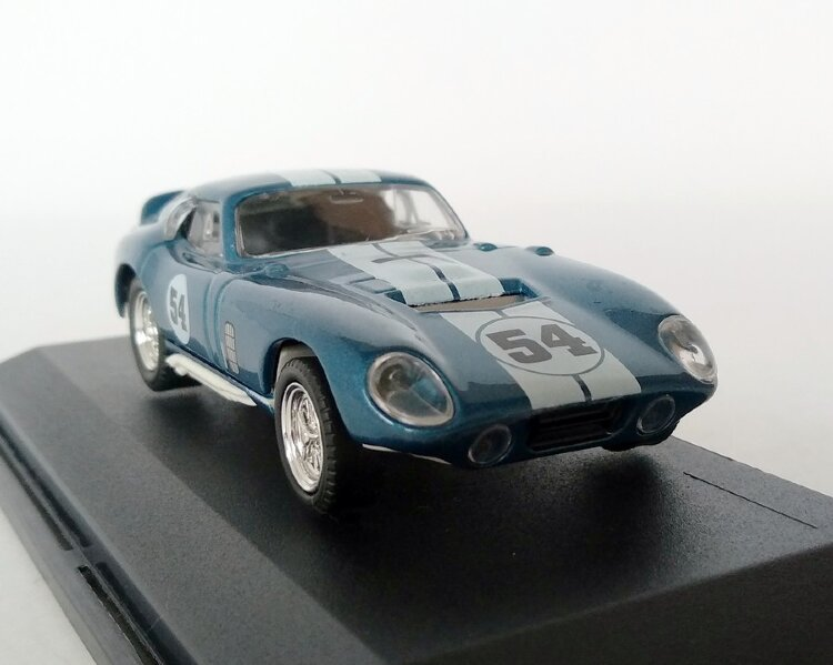 Ford Shelby Cobra Daytona Coupe 1965 (синий) Форд